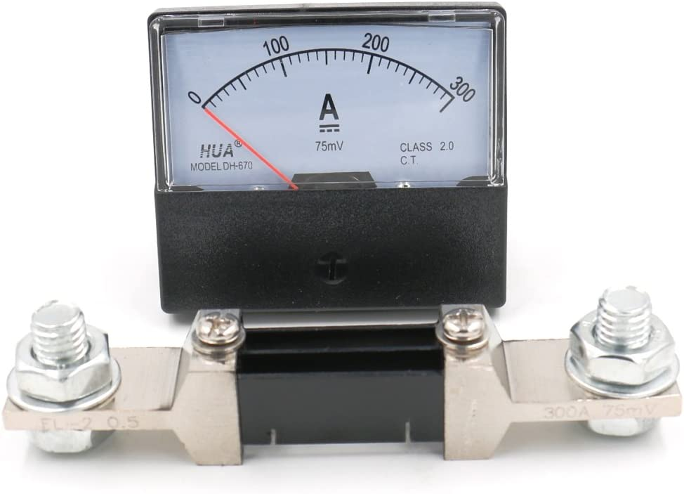 Baomain Ranking TOP5 DH-670 DC 300A price Analog Amp Panel Meter wi Ammeter Current