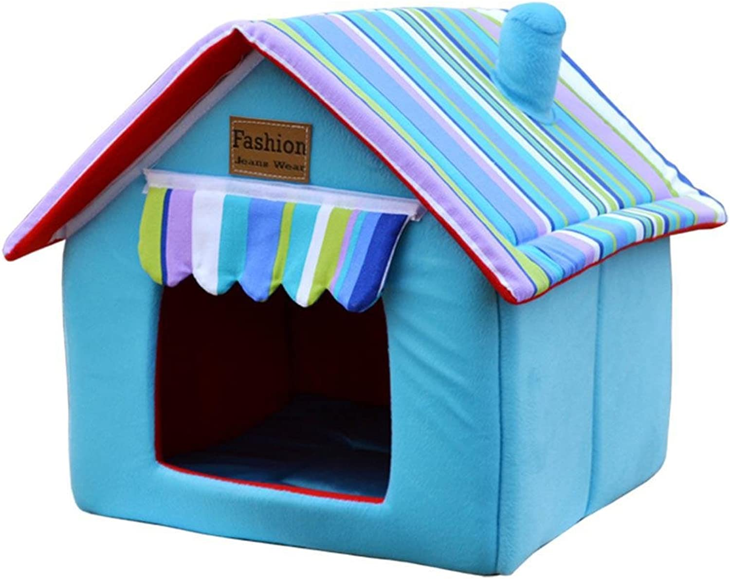 Pet Waterloo Cat nest Puppy nest Washable summer four seasons Teddy Small dogs Dog house kennel Dog supplies , 006 , XXL