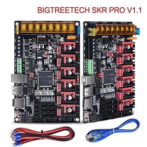 QIAO-RIHZKEJI Durevole E di Alta qualità Scheda di Controllo 32Bit VS SKR V1.3 Rampe 1.4 Parti della Stampante 3D MKS Gen L per Ender 3/5 CR10 TMC2208 TMC2209 (Size : with A4988 x6)