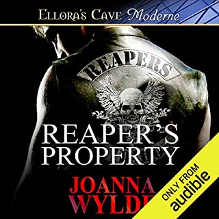 Reaper's Property                   By:                                                                                                                                 Joanna Wylde                               Narrated by:                                                                                                                                 Stella Bloom                      Length: 8 hrs and 42 mins     34 ratings     Overall 4.5