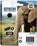 Epson 24 Serie Elefante, Cartuccia originale getto d'inchiostro Claria Photo HD, Formato XL, Nero