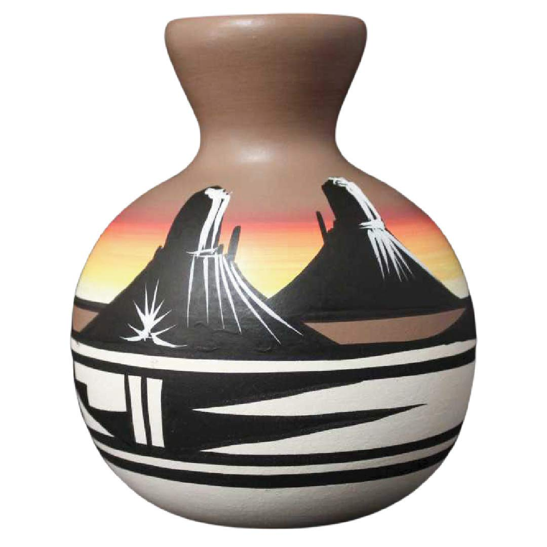 Authentic Cedar Mesa Pottery - Spring new work Hand Max 44% OFF Desert Rainbo Indian Painted