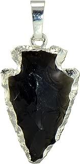 Best black obsidian arrowhead necklace Reviews