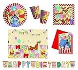 Procos 412254 Kinderpartyset Winnie Pooh Alphabet