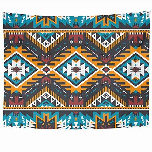 Tapices para colgar en la pared Tracería de moda Cherokee Retro México Oriente Colores Papel turco Tribal Ikat Perú Texturas abstractas Tapiz Manta de pared Decoración para el hogar Sala de estar Dorm