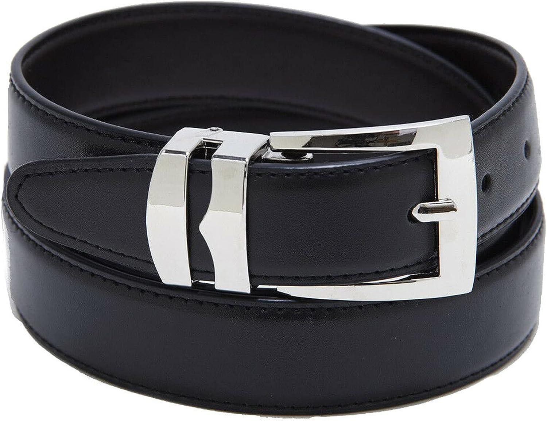 Men's belts Men's Belt Reversible Bonded Max 44% OFF NEW Silver-T Belts Leather
