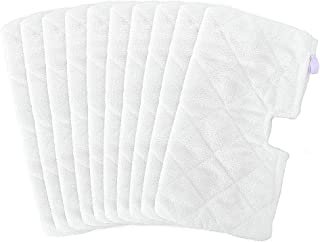 Fushing 10Pcs Microfiber Replacement Cleaning Pads for Shark Steam Pocket Mops S3500 Series,S2902,S3455K,S3501,S3550,S3601...