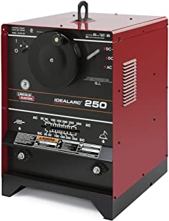 Lincoln Electric Idealarc 250 Stick Welder, 230/460/575 Volt (Power Supply Only - Accessories Sold Separately)