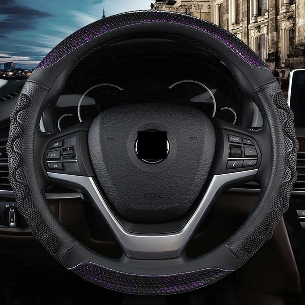 ASHDelk Limited time trial price Car Interior Steering Wheel Accessories M for Cover Most Large-scale sale