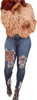Women Solid Tassels Open Front Long Sleeve Woolen Coat Parka Sweater Jacket Cardigan Outwear