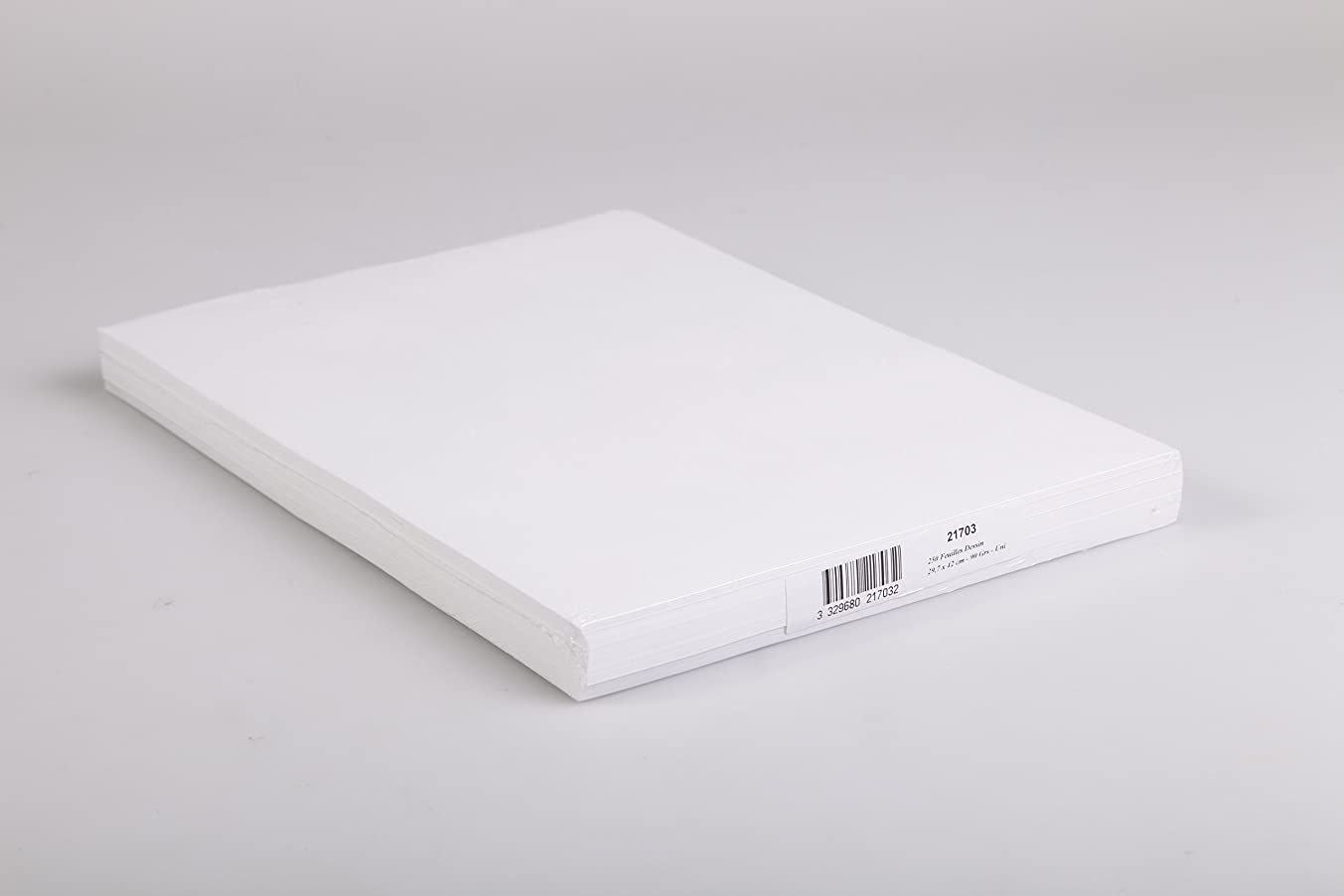 Clairefontaine 250 Sheets A3 Cartridge Paper White
