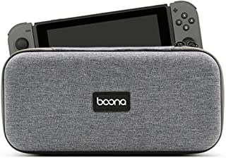 KONEE Nintendo Switch Lite 専用 ケース 任天堂 スイッチ ナイロン素材 / 耐衝撃 / 防水防汚 / ハンドストラップ付き / 全面保護 収納 / バッグ / 16枚ゲームカード収納 / お持ち運び便利 / ニンテンドー スイッチ lite カバー グレー