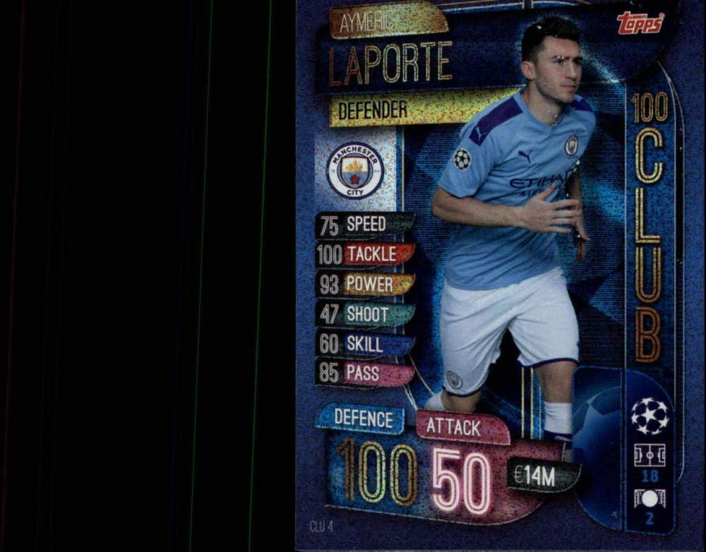 2019-20 Topps UEFA Champions Over item handling ☆ League Match Opening large release sale 100 Club #CLU Attax 4