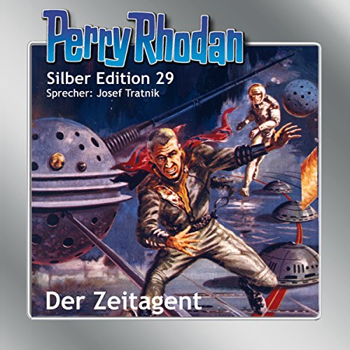 Der Zeitagent audiobook cover art