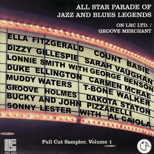 All Star Parade of Jazz and Blues Legends - Full Cut Sampler, Vol. 1
