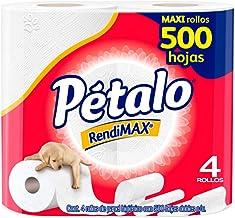 Pétalo RendiMAX, Papel Higiénico, 4 Piezas Con 500 Hojas C/U