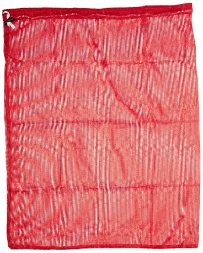 Sportime  87984 HeavyDuty Mesh Storage Bag 24 x 36 Inches Red