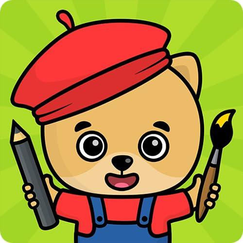 Libro para dibujar y colorear para niños