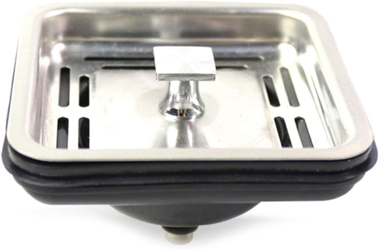 huiranmaoyi Stainless Steel Square Sink Filter, Kitchen Sink Dra
