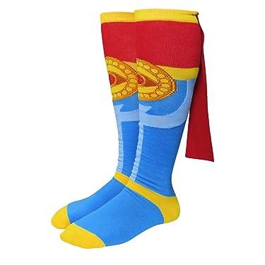 Doctor Dr. Strange Knee High Cape Socks Shoe Size 5-10 Marvel Comics