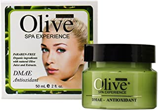 Olive Essence DMAE Antioxidant Cream, 2 Ounces - Paraben-free, Sulfate-free, Cruelty-free