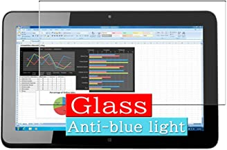 "Synvy Anti Blue Light Tempered Glass Screen Protector Compatible with HP Elite x2 1011 G1 L8L94PA 11.6"" Visible Area 9H Pr..."