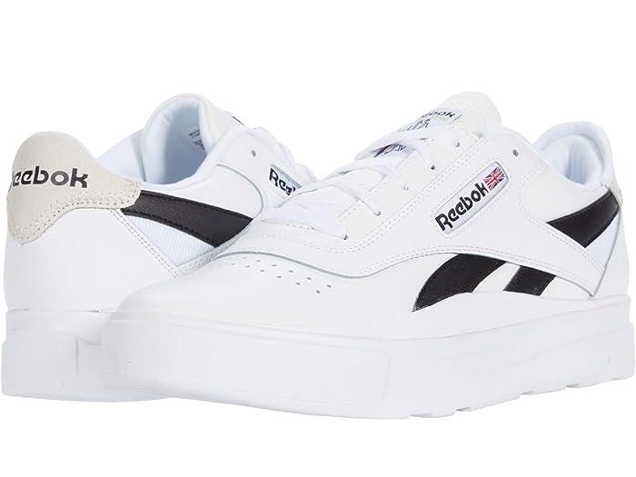 Mens Vintage Shoes, Boots | Retro Shoes & Boots Reebok Lifestyle Legacy Court WhiteBlackWhite Shoes $54.09 AT vintagedancer.com