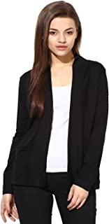 Espresso Women's Viscose Front Open Full Sleeve Shrug
