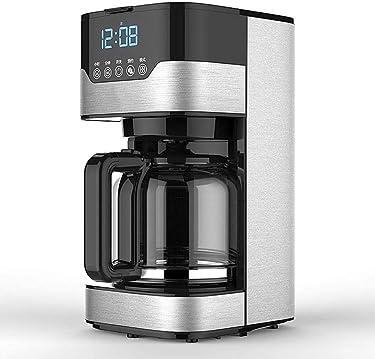MUXIN Kaffeevollautomat Mit Milchaufschäumdüs - 800 Watt, 1,5 Liter Wassertank, Abwaschbares Tropfgitter, Bewegliche Aufschäumdüse, Abnehmbarer Wassertank, Edelstahl
