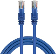 Cat 6 Ethernet Cable 25ft, CableCreation Internet Network Cords Patch LAN Cable, 23 AWG High Speed RJ45 Wire for Router, Modem, Computer, Faster Than Cat 5e/5, 25 feet, Blue