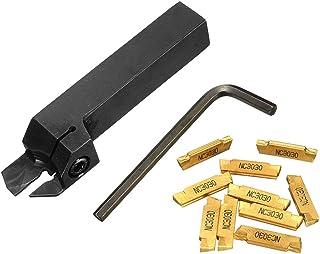 Foxorex Kit de herramientas de moleteado de doble rueda diagonal accesorios duraderos 7 piezas
