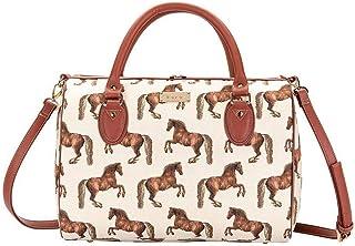 Signare Tapestry Borse a tracolla e borse a tracolla da donna con disegni di cani