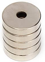 ART IFACT 1 Piece of 50mm x 10mm x 12.5mm(Hole) of Magnet, Project Magnet, Ring Magnet (Pack of 1 Piece)
