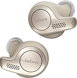 Jabra Elite 65t True Wireless Earbuds with Charging Case  – Gold Beige