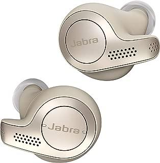 Jabra Elite 65t True Wireless Earbuds with Charging Case – Gold Beige