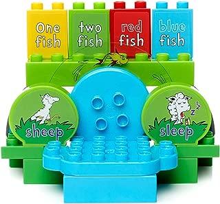 Mega Bloks Dr. Seuss One Two Fish Pond Building Set (20 Piece), Multicolor