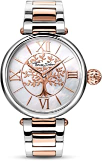 THOMAS SABO Womens Analogue Quartz Watch with Stainless Steel Strap WA0315-272-213-38 mm