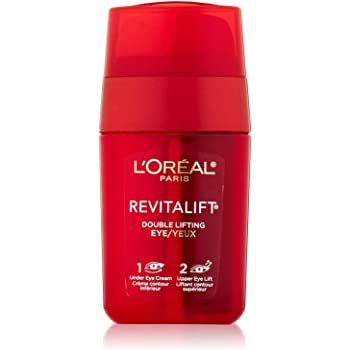 L'Oréal Paris Skincare RevitaLift Double Lifting Eye Cream Treatment with Pro-Retinol A and Pro-Tensium E to Reduce Wrinkles and Diminish Appearance of Dark Circles, 0.5 fl oz