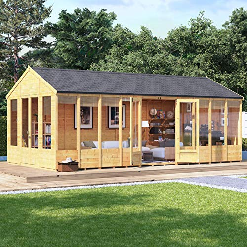 BillyOh Tessa Tongue and Groove Reverse Apex Summerhouse |...