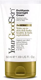 YourGoodSkin ProVitamin Overnight Cream, Soft Skin, Real