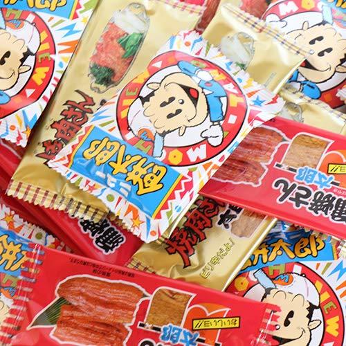 菓道 蒲焼さん太郎&焼肉さん太郎&ニュー餅太郎セット(3種・計36コ) お菓子 駄菓子 おかしのマーチ