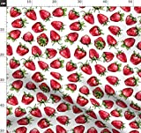Obst, Essen, Rot, Sommer, Erdbeere, Erdbeeren,