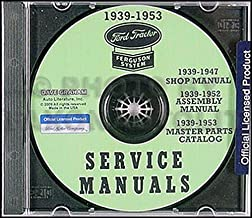 1939-1947 Ford Tractor 2N and 9N Repair Shop Manual Set on CD