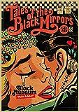 LGYJAL Vintage Classic Movie Black Mirror-BBC Poster Painting Retro Kraft Paper Poster Home Bar Decoración De La Pared Pegatinas 50X70 Cm (19.68X27.55 In) U-430