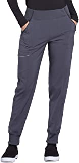Cherokee Infinity Women's Mid Rise Tapered Jogger Scrub Pant