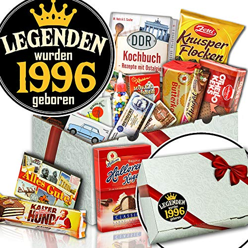 Legenden 1996 - Süßigkeitenbox - Geburtstagsgeschenk Freundin