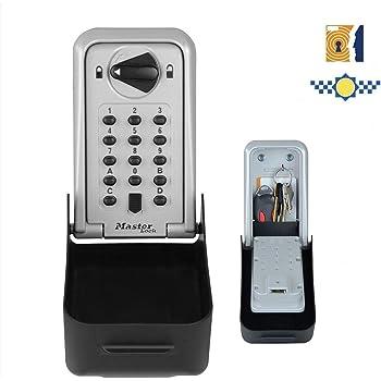 MASTER LOCK Caja fuerte para llaves certificada [Extragrande][Montaje mural] - 5426EURD - Caja de seguridad profesional: Amazon.es: Bricolaje y herramientas