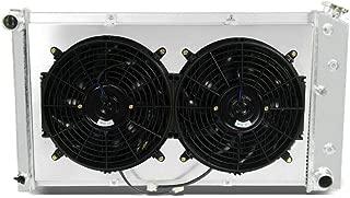 CoolingCare 3 Row Aluminum Radiator+ 2x12