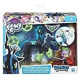 HASBRO b6009My Little Pony Guardians Of Harmony Queen Chrysalis Spike The Dragon Inglés Versión, Juguete, 1 unidad [modelos surtidos]