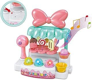 closetoYBT アイスクリーム屋さん おままごとセット ごっこ 洋食屋 人気 女の子 おもちゃ知育玩具 お誕生日プレゼント 入園の祝い クリスマス